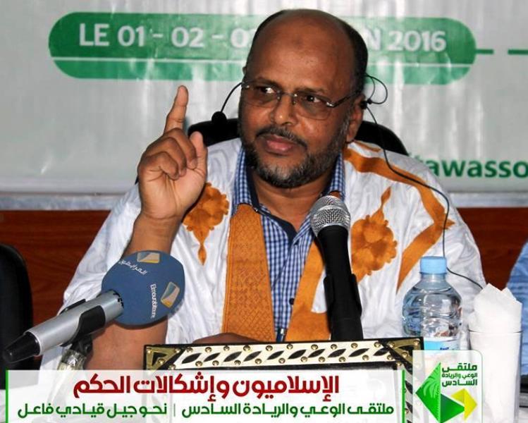 """الرئيس السابق لحزب """"تواصل"""" محمد جميل ولد منصور"""