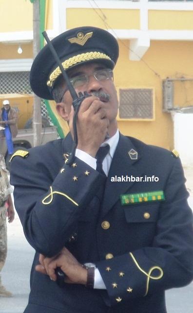 قائد أركان الطيران الموريتاني الفريق محمد ولد الحريطاني (الأخبار - أرشيف)