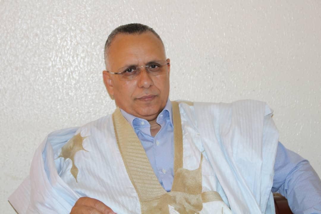 أ.أحمد سالم ولد بوحبيني ـ رئيس اللجنة الوطنية لحقوق الإنسان