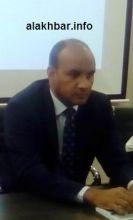 محمد ولد الداف رئيس سلطة منطقة نواذيبو الحرة.