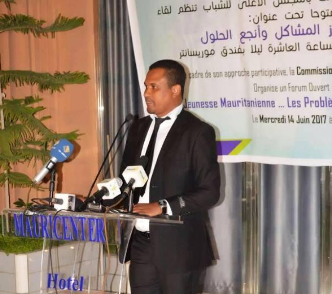 رئيس لجنة الحكامة بالمجلس ابحيده ولد خطري