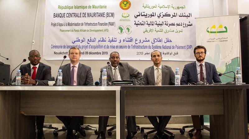 منصة افتتاح الورشة التي وقع على هامشها الاتفاق