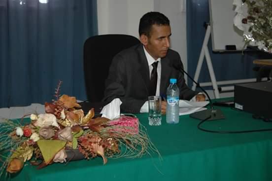 المتعاون مع قناة الموريتانية (رسمية) سيديا ماء العينين