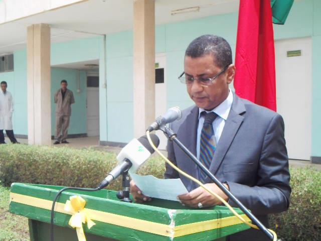 السفير الموريتاني في الرباط محمد الأمين ولد آبي