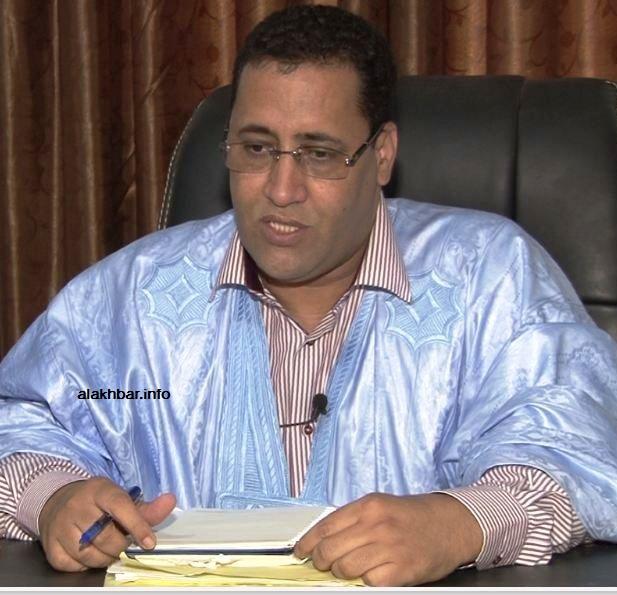 وزير التدوينات الموريتاني
