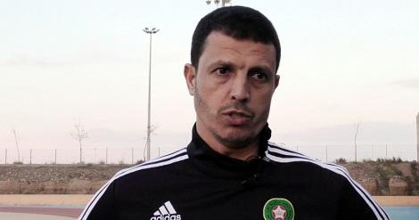 مدرب المنتخب المغربي للمحليين جمال السلامي