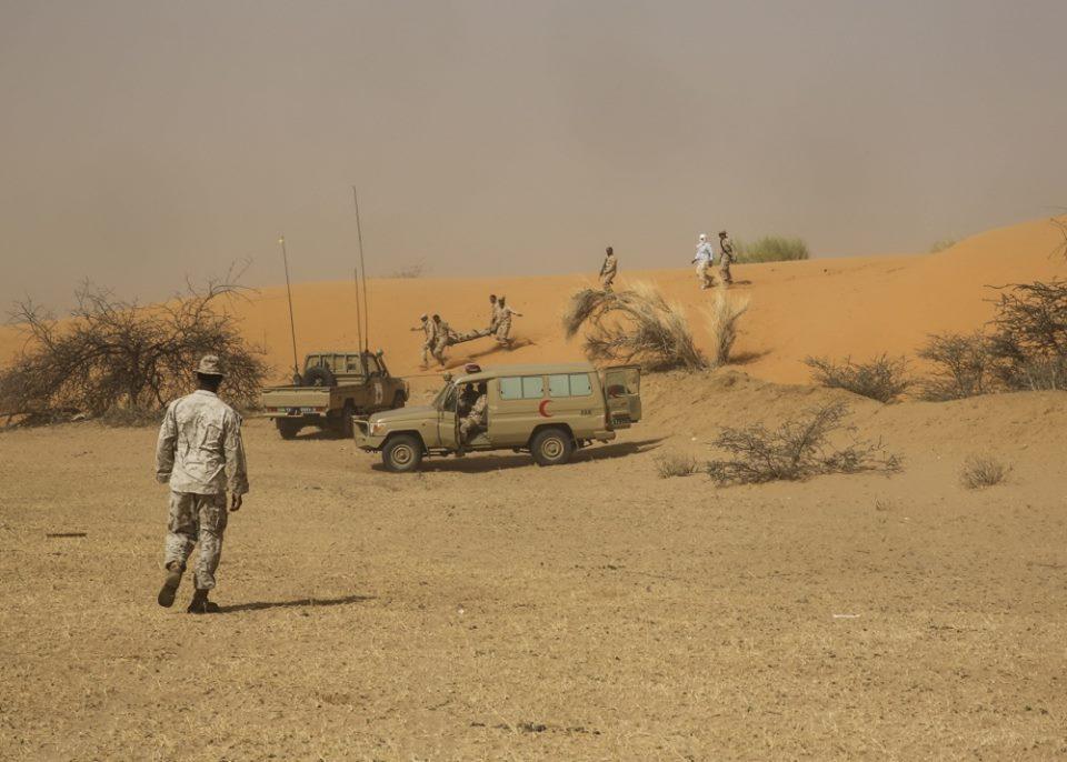 تدريبات سابقة للجيش الموريتاني تحت إشراف أمريكي
