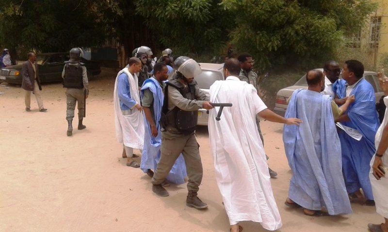 الشرطة فرقت بالقوة تجمعا للأساتذة صباح أمس الأربعاء