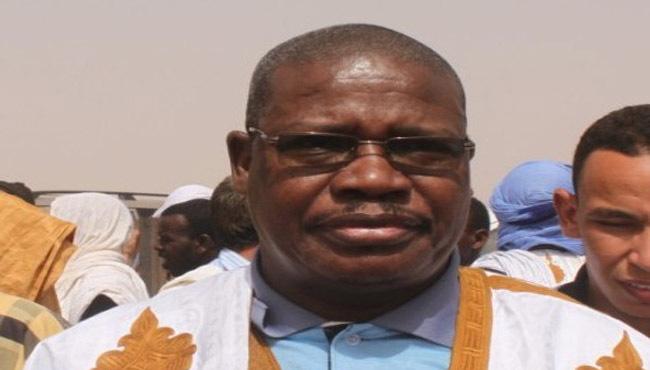 الساموري ولد بي الأمين العام للكونفدرالية الحرة لعمال موريتانيا.
