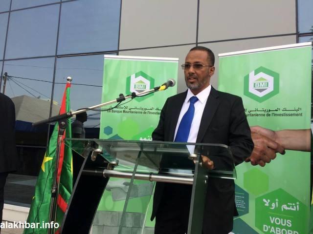 رئيس الاتحاد الوطني لأرباب العمل الموريتانيين محمد زين العابدين ولد الشيخ أحمد