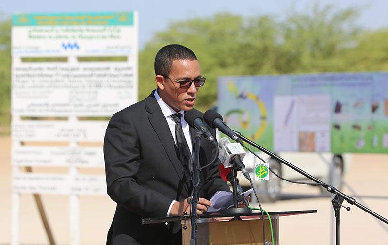 وزير النفط والطاقة والمعادن محمد ولد عبد الفتاح
