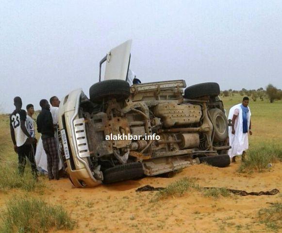 حادث سير على طريق الأمل ـ (أرشيف الأخبار)