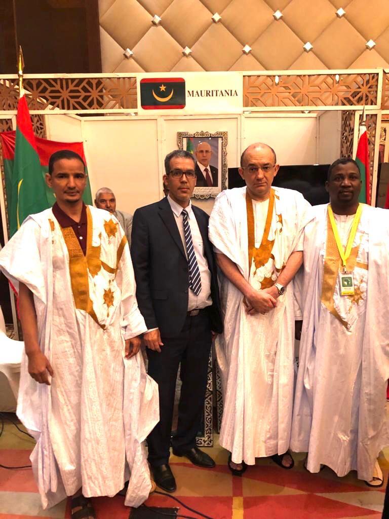 الوفد الموريتاني المشارك في احتفالات العيد الإفريقي في الكويت