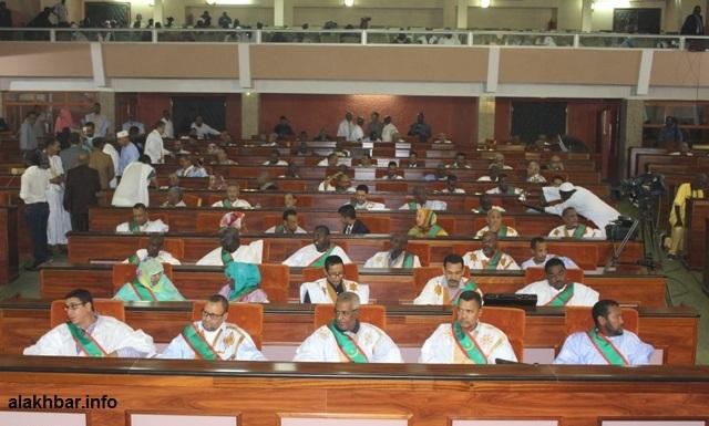 البرلمان الجديد خلال جلسة سابقة له (الأخبار)