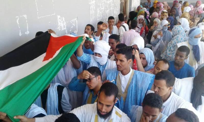 الاحتجاجات الطلابية الرافضة للقرار الأمريكي بشأن القدس فرضت على السفير الانسحاب من الحفل