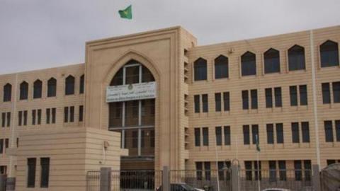 مبنى وزارة الخارجية الموريتانية في نواكشوط