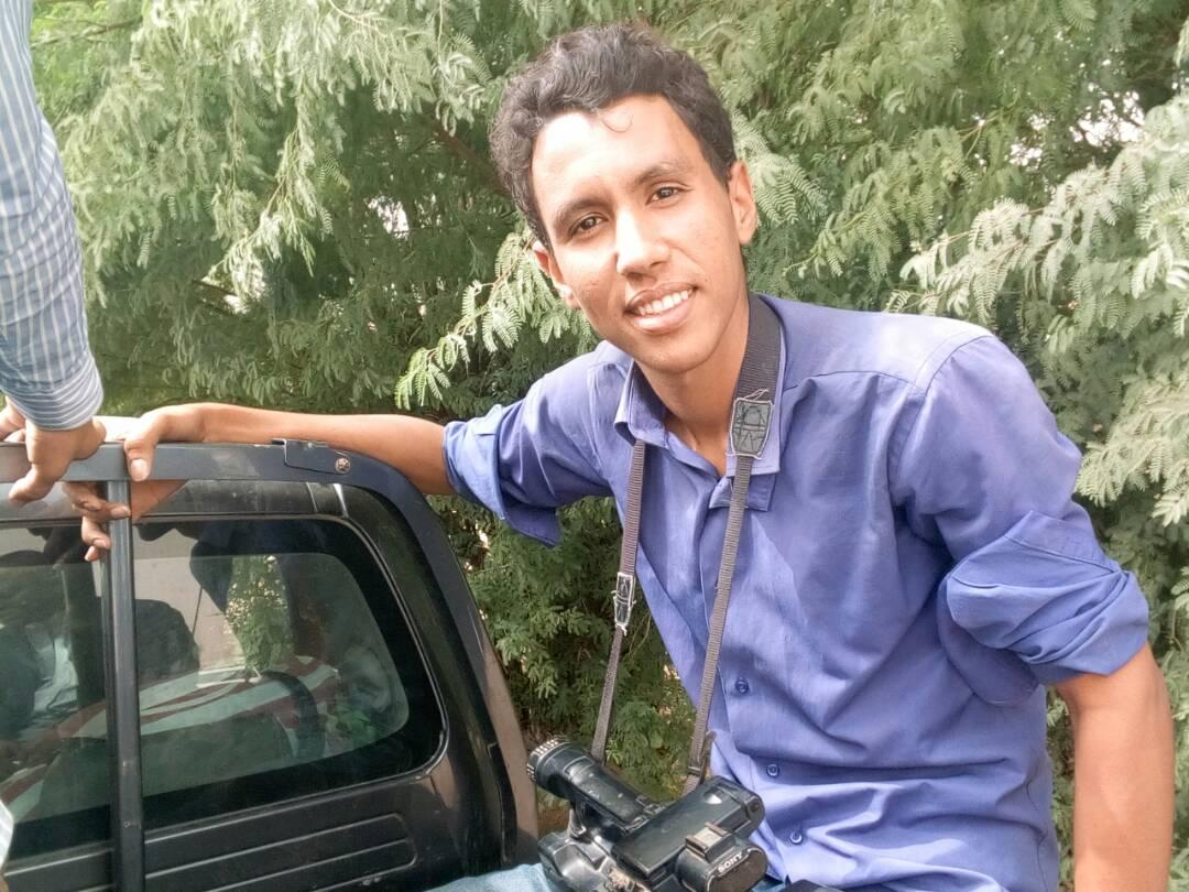 المصور الشاب أحمد شياخ محمد عالي