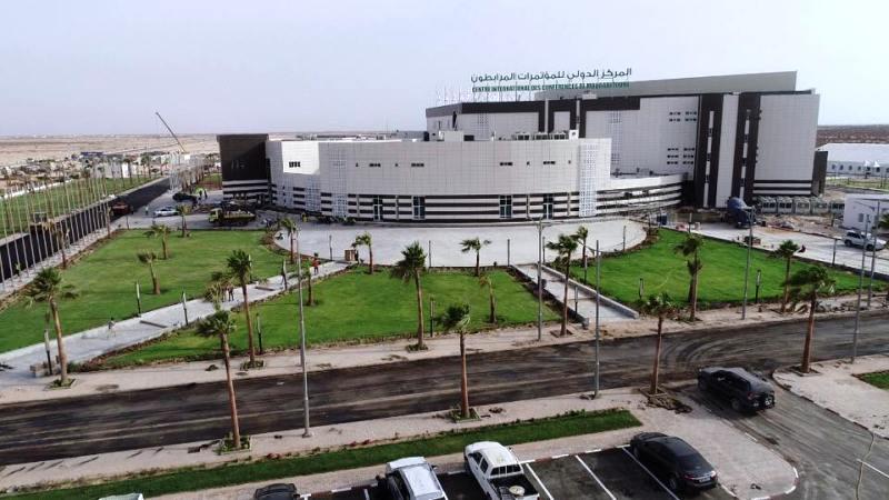 قصر المؤتمرات الجديد خارج مدينة نواكشوط