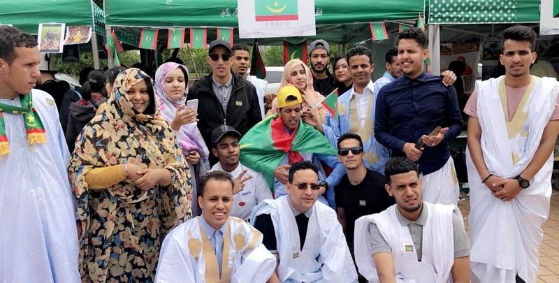 طلاب موريتانيون في الصين