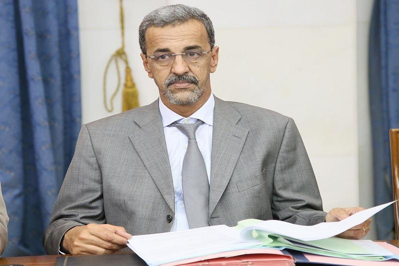 وزير التنمية الريفية الدي ولد الزين (وما)