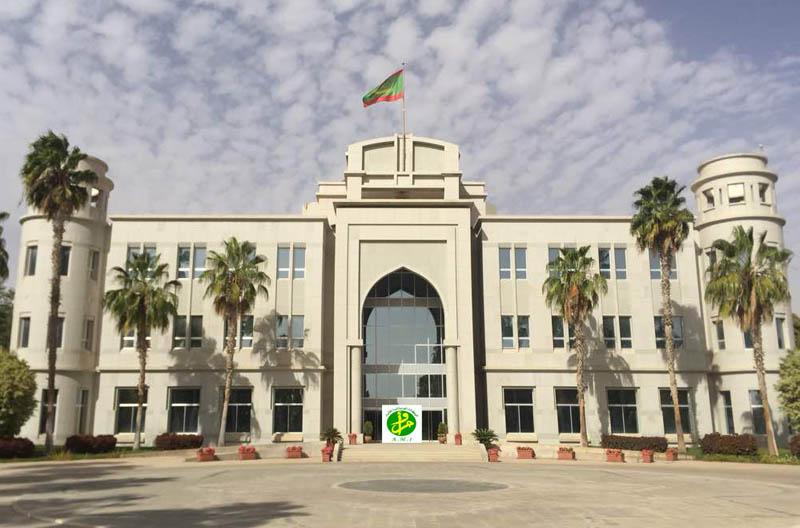 القصر الرئاسي بالعاصمة نواكشوط