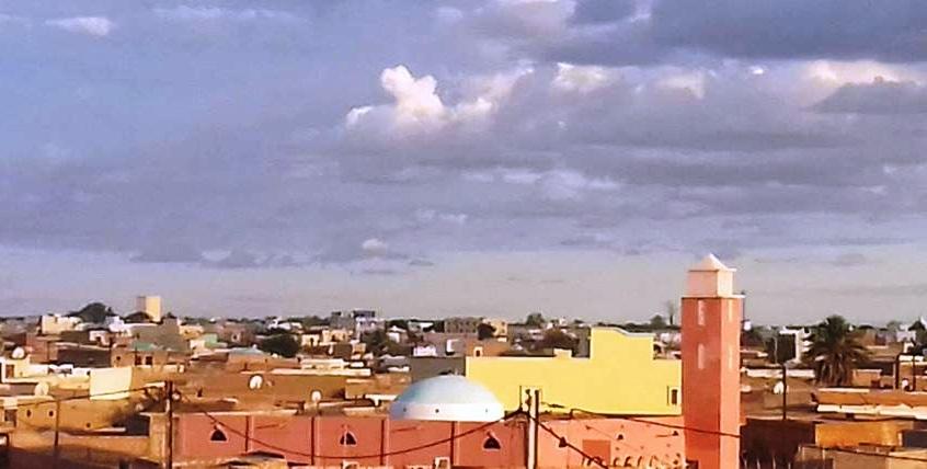 مدينة روصو عاصمة ولاية الترارزة جنوبي موريتانيا
