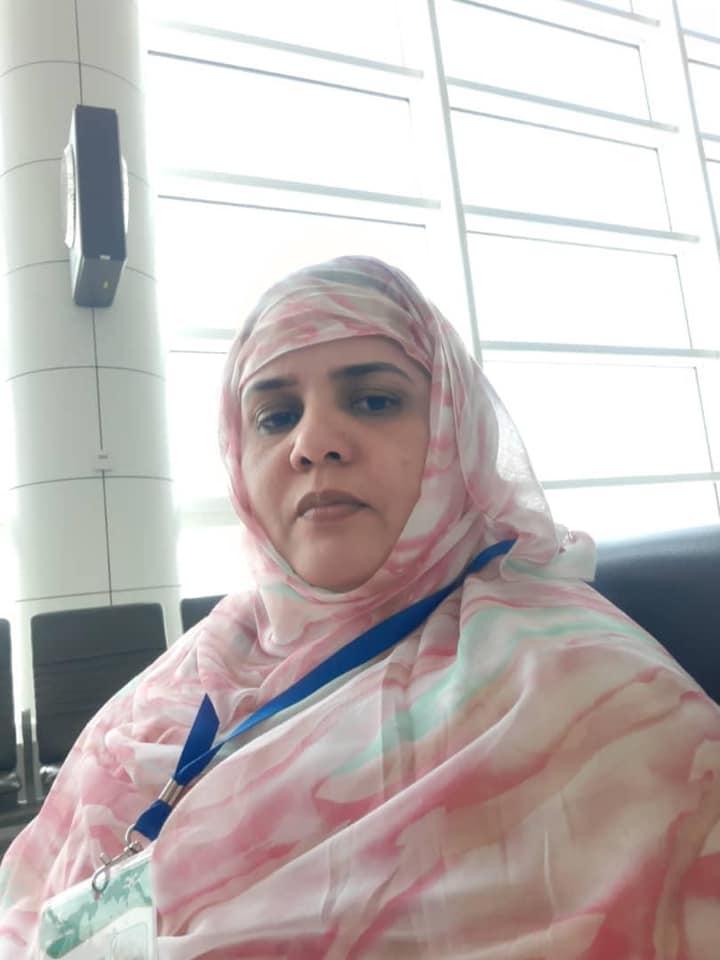 رئيسة اتحادية التعدين التقليدي في مقاطعة الشامي عيشة عبد الله تم توقيفها أمس/ الأخبار