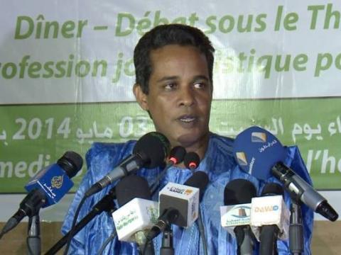 المستشار الإعلامي لوزير الاقتصاد والمالية أحمد ولد محمدو