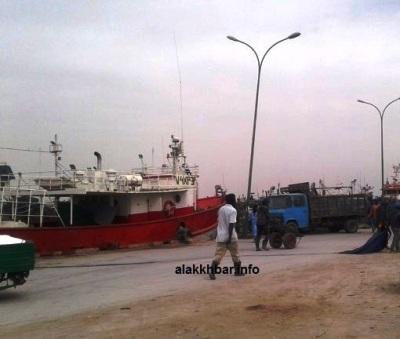 جانب من ميناء خليج الراحة زوال اليوم / الأخبار