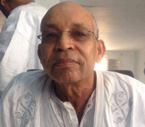 القيادي في منتدى المعارضة بموريتانيا ورئيس الحركة من أجل التغيير الديمقراطي موسى افال
