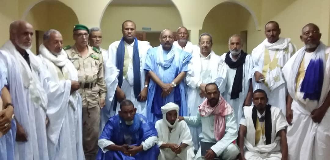 صورة عقب توقيع الاتفاق منتصف أكتوبر الماضي في نواكشوط