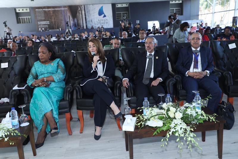 وزير الدفاع حننا سيدي حننا خلال فعاليات المنتدى الذي استضافته مصر