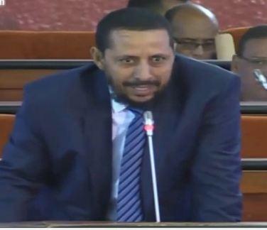 رئيس لجنة الشؤون الإسلامية في البرلمان النائب عبد الرحمن ولد الصبار