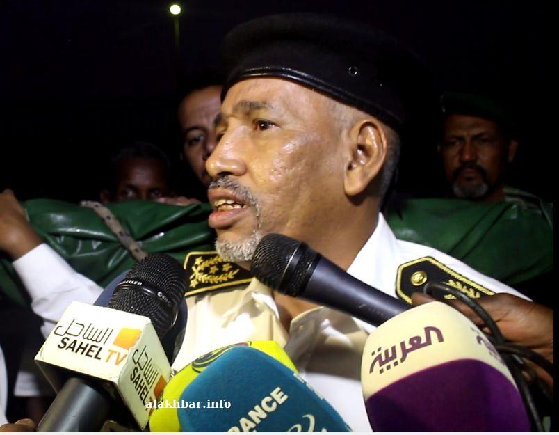 مدير أمن الدولة المفوض القاسم سيدي محمد (الأخبار - أرشيف)