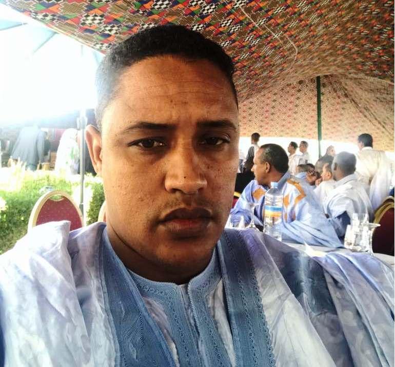 الناشط السياسي في الحزب الحاكم اندحمودي ولد خطاري