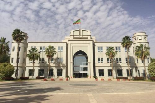 القصر الرئاسي بالعاصمة نواكشوط (وما)