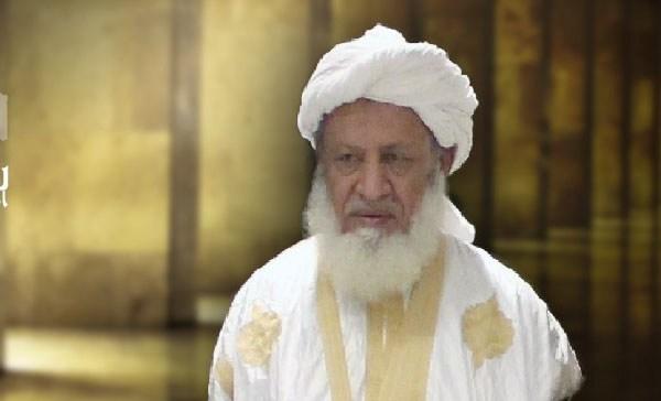 رئيس منتدى العلماء والأئمة بموريتانيا وشيخ محظرة العون الشيخ محمد الأمين ولد الحسن