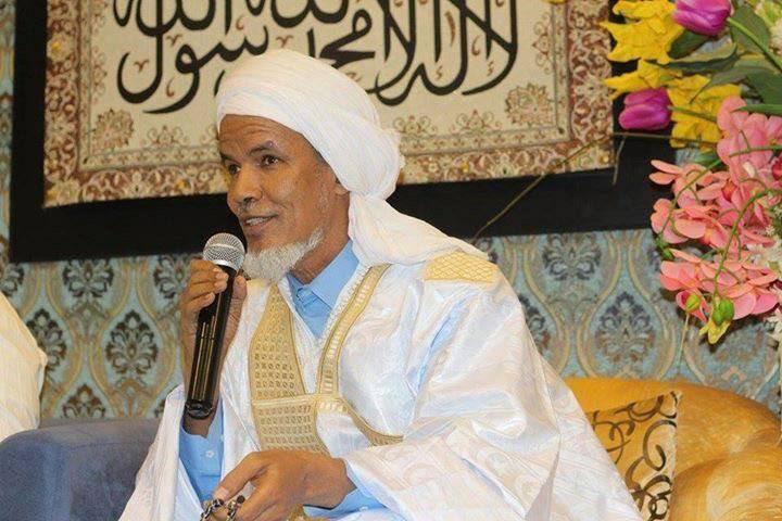 الشيخ محمد الحافظ النحوي رئيس التجمع الثقافي الإسلامي في موريتانيا