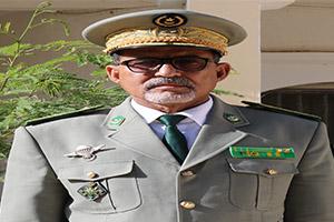 المفتش العام للقوات المسلحة وقوات الأمن بموريتانيا اللواء الذهبي ولد جعفر