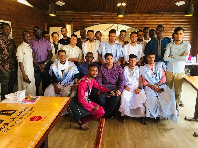 الطلاب الموريتانيون في السودان خلال جمعيتهم العمومية