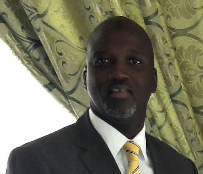 أبوبكر تامبادو وزير العدل الغامبي.