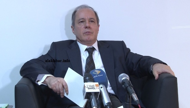 السفير التركي في نواكشوط مهمت بلير ـ (الأخبار)