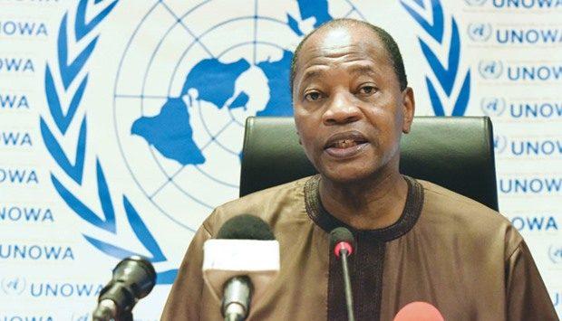 محمد بن شامباس الممثل الخاص للأمين العام للأمم المتحدة في غرب إفريقيا.