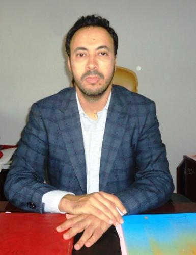 المدير الجديد للمركز الطبي متعدد التخصصات محمد ولد الشيخ (تصوير الأخبار)
