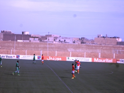 جانب من المباراة الني جمعت مساء اليوم نواذيو ولكصر