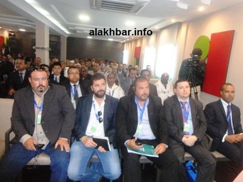 جانب من المشاركين في منتدى الاستثمار الدولي في نواذيبو (تصوير الأخبار)