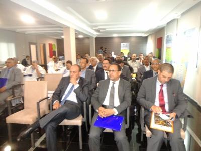 جانب من حضور ملتقى حول جائزة الجودة بموريتانيا (تصوير الأخبار)