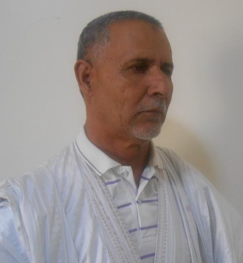 رئيس المبادرة ـ امين ولد محمد البخاري ولد الزيغم