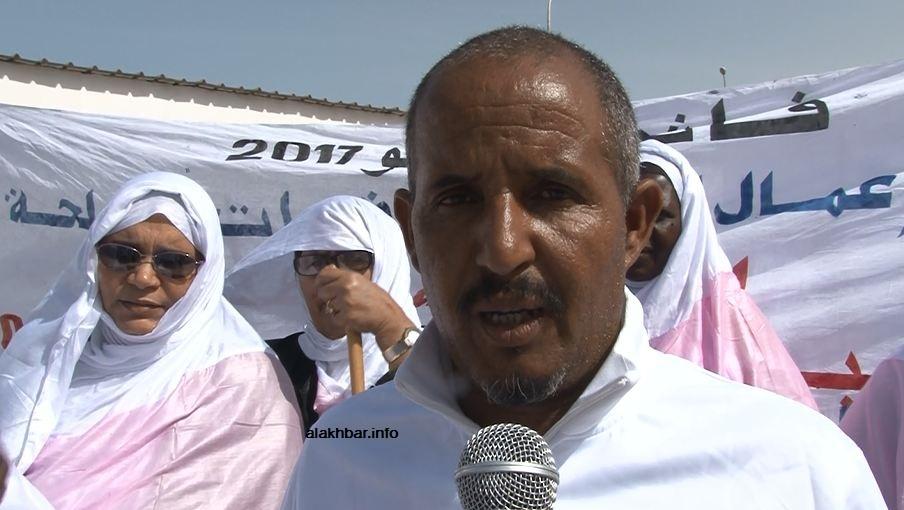 محمدو ولد حماد أمين عام قسم العمال المدنيين في القوات المسلحة