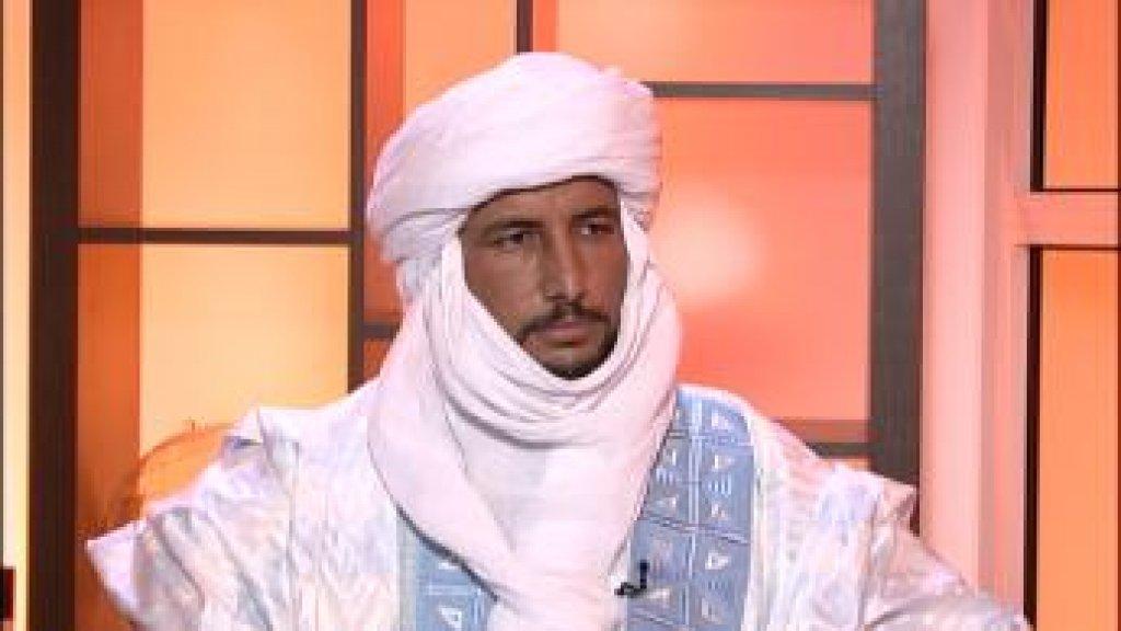 بلال ٱغ شريف قيادي بتنسيقية الحركات الأزوادية.